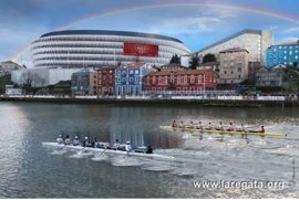 Ingenieros y Deusto volverán a competir el 7 de abril en la ría de Bilbao en la 37 edición de la regata