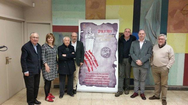 Jurado Del Premio Jaume D'urgell 2017 De Balaguer