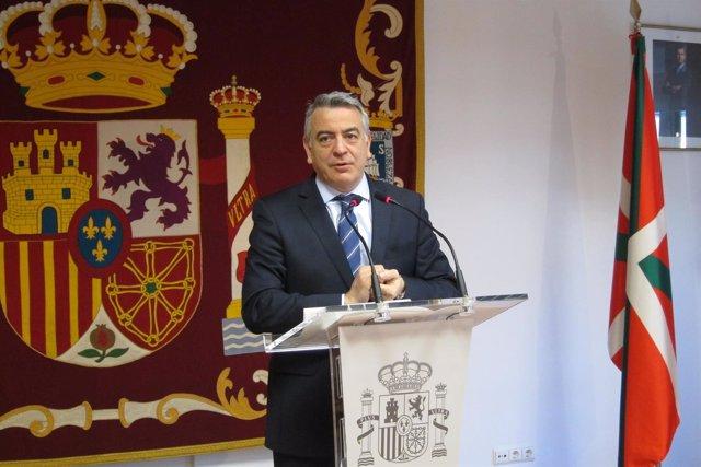 Javier De Andrés, delegado del Gobierno en Euskadi