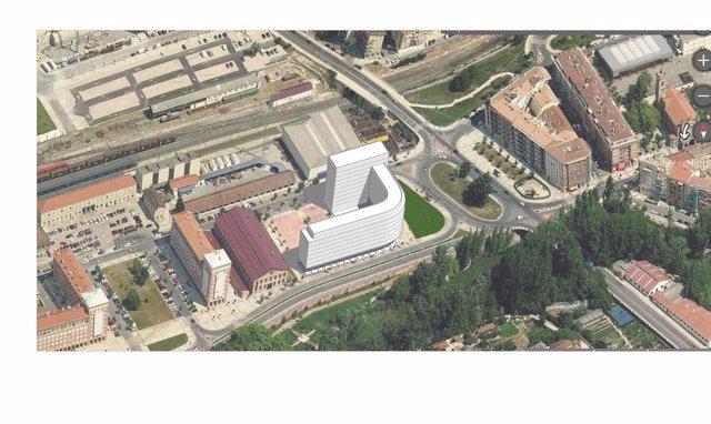 Nuevo edificio en Cuatrovientos