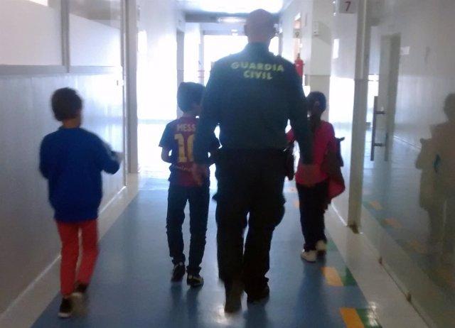 La Guardia Civil Detiene A Una Mujer Por Agredir Sus Tres Hijos Menores De Edad