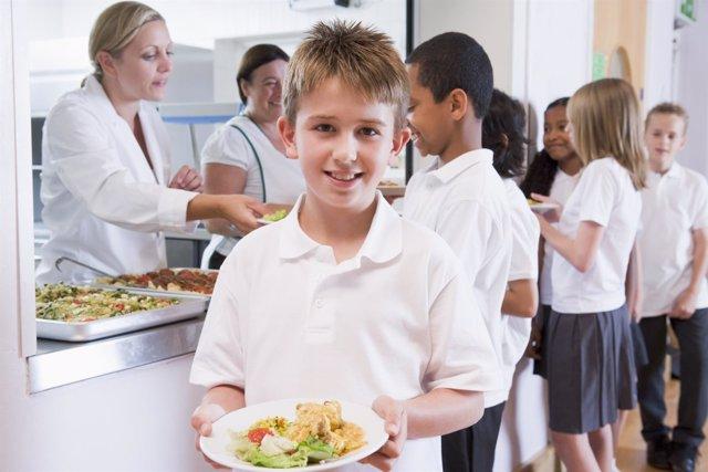 Comedor escolar, comer sano en el colegio