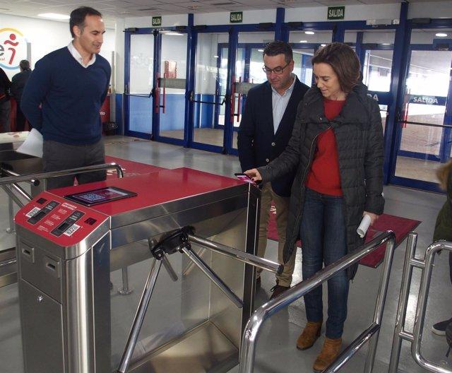 Gamarra estrena la nueva Tarjeta Virtual de Logroño Deporte