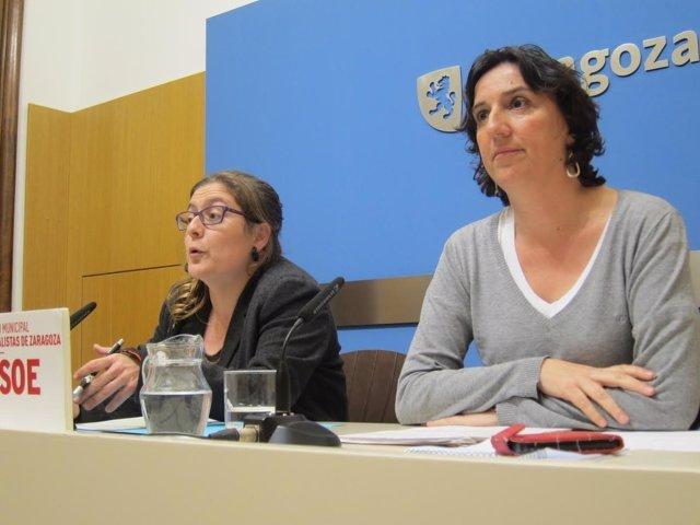 Marta Aparicio y Lola Ranera