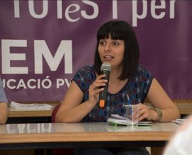 Sandra Mínguez desvela que no será candidata a secretaria general de Podemos en la Comunitat