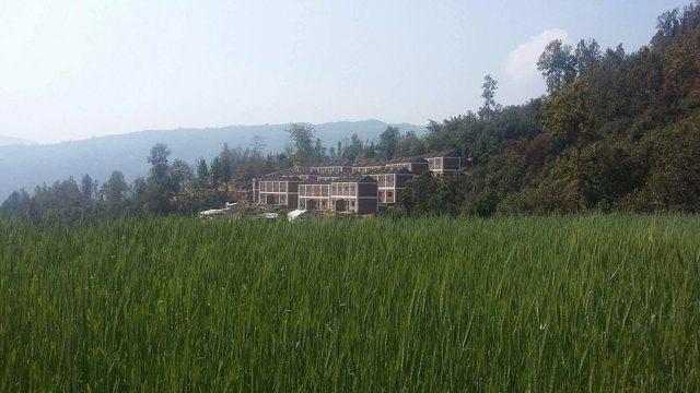 Reconstrucción de Dhola en Nepal