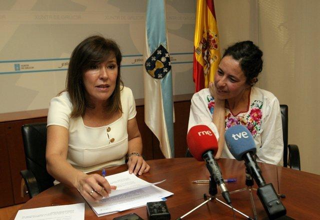 La conselleira de Medio Ambiente, Beatriz Mato