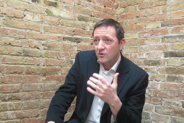 El escritor Ignacio Martínez de Pisón
