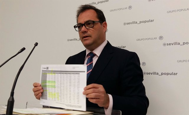 El concejal del PP de Sevilla Jaime Ruiz
