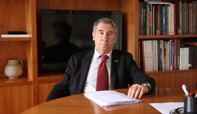 El presidente de Cepyme-Zaragoza, Aurelio López de Hita.