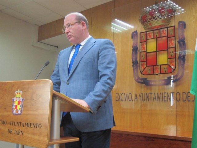 Imagen de archivo del alcalde de Jaén, Javier Márquez