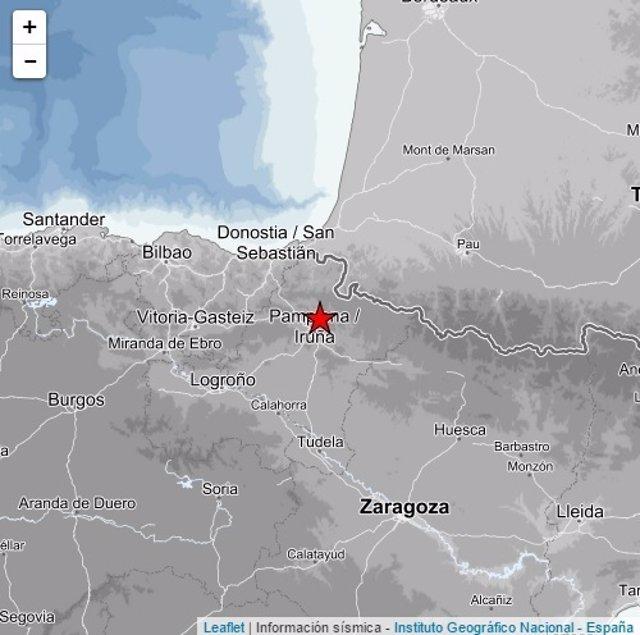 Registrado un terremoto de intensidad 3,1 con epicentro en Ripa (Navarra)