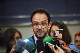 """PSOE reprocha a PDeCAT y ERC que se apoyen en la CUP pese a sus comportamientos """"antidemocráticos"""""""