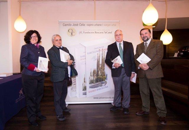 Presentación de la edición bilingüe de 'Madrid-Barcelona' de Camilo José Cela