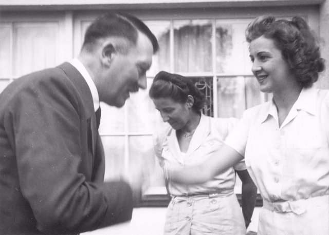 Eva Broun y Hitler