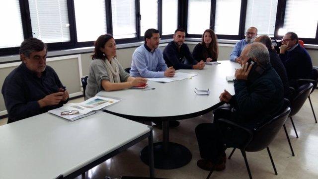 Reunión del Ayuntamiento con empresarios y vecinos de Playa de Palma