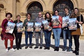 La iniciativa 'Baietz 20 ordu euskaraz Intxaurrondon' busca activar el uso del euskera en este barrio donostiarra