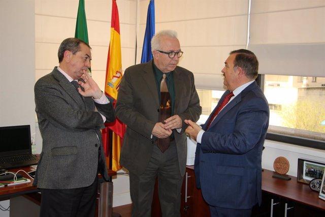 Reunión de gestores energéticos con la Junta.