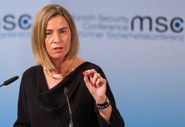 """Mogherini pide elecciones """"justas e inclusivas"""" y la liberación de los opositores en Venezuela"""