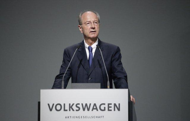 Hans Dieter Pötsch, presidente del consejo de vigilancia de Volkswagen