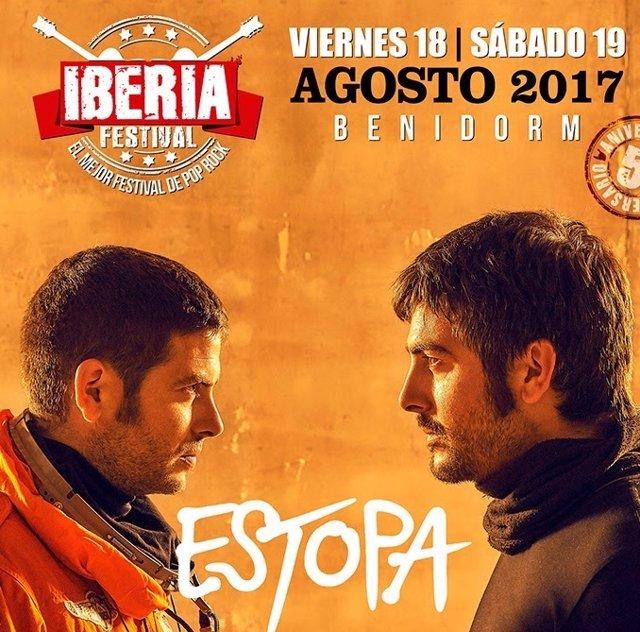 Estopa se suma al Iberia Festival de Benidorm
