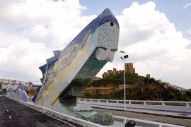 El puente del Dragón de Alcalá (Sevilla) cumple diez años en servicio