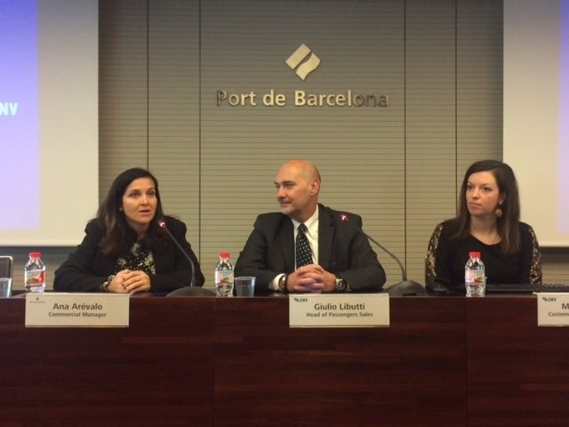 A.Arévalo, G.Libutti y M.Orsini, durante la presentación