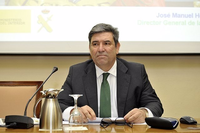 Director General de la Guardia Civil en CESEDEN