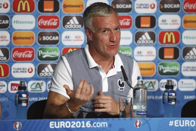 El seleccionador de Francia, Didier Deschamps