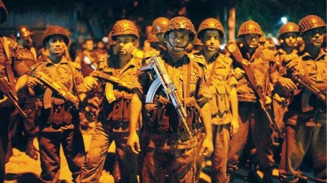 Fuerzas bangladeshíes desplegadas por el ataque a un restaurante de Dacca