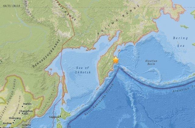 Terremoto en el extremo oriental de Rusia
