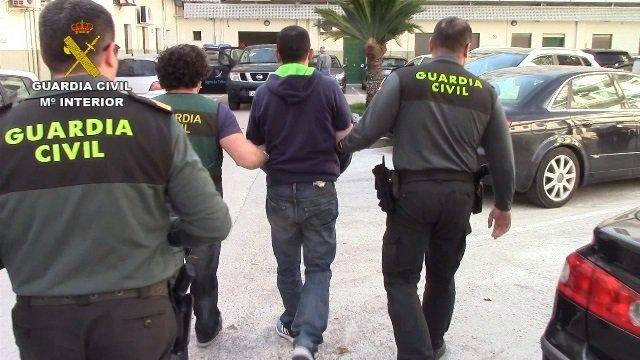 Detenido en Canals un fugado de Italia de una red de tráfico de cocaína