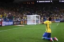 Neymar y Tite llevan a Brasil a Rusia