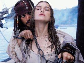"""Keira Knightley auguró en 2003 que la saga Piratas del Caribe iba ser """"un desastre"""""""