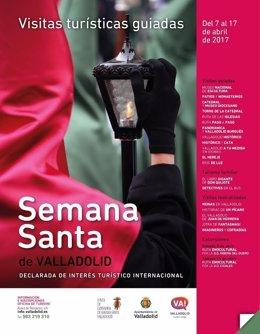 Cartel promocional de la Semana Santa de Valladolid