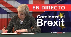 Comienza el 'Brexit' | Directo: La Eurocámara presenta sus líneas rojas en la negociación del Brexit