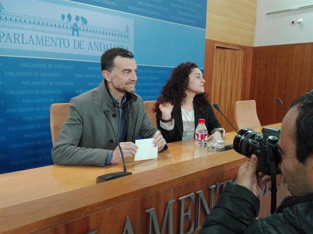 Antonio Maíllo, hoy junto a Inmaculada Nieto