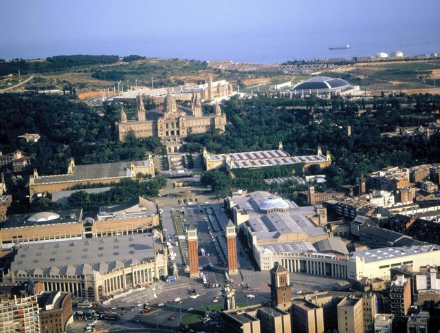 Montjuïc, Fira, MNAC, Palau Sant Jordi, Estadi Lluís Companys / Olímpic