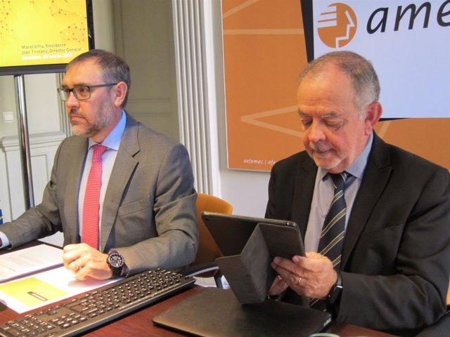 Jordi Tristany Y Manel Xifra (Amec)