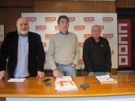 Mayor comunicación interna, Diálogo Social y negociación colectiva, ejes del nuevo delegado de CCOO en Valladolid