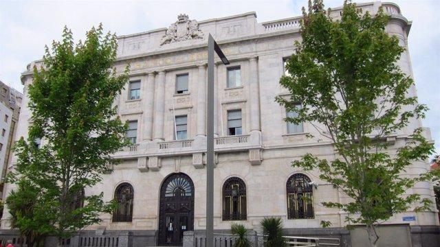 Edificio Banco De España En Santander
