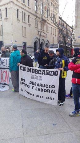 Trabajadores del Moscardó