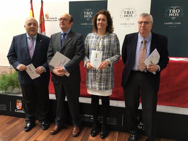 Valladolid.- Un momento de la presentación del programa 'Tronos'