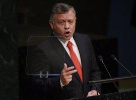 El rey de Jordania defiende la solución de los dos estados