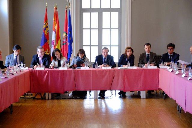 Valladolid: reunión Consejo Dirección C. Presidencia
