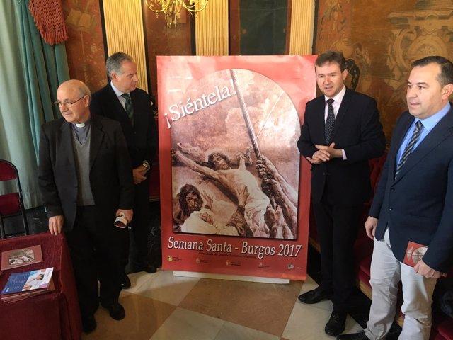 Presentación de la Semana Santa de Burgos.