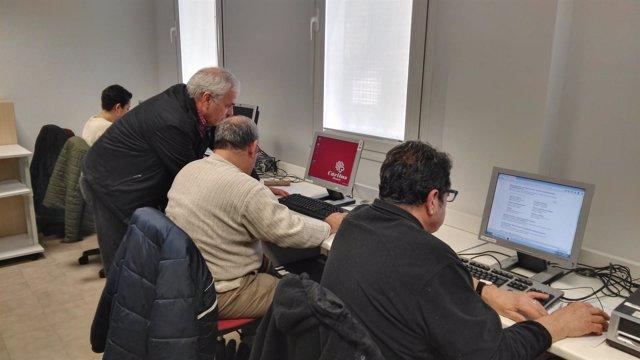 Aula de Empleo de Cáritas Madrid