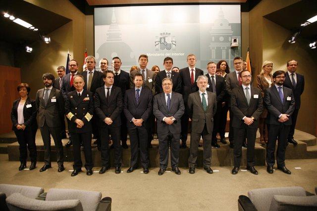 Constitución del Consejo Nacional de Protección Civil