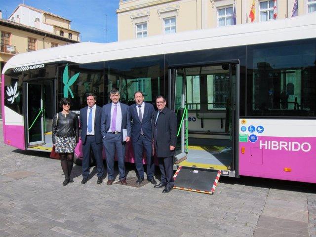 Primer bus híbrido de Palencia