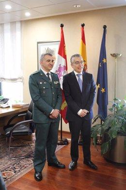 Presentación del nuevo jefe de la Comandancia de Burgos.